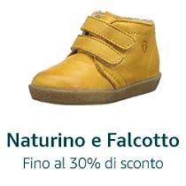 Naturino e Falcotto: scarpe per bambini fino al -30%