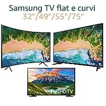 "Samsung - Scopri i TV flat e curvi 32""/49""/55""/75"""