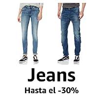 Hasta el 30% de descuento en marcas Denim: G-Star, Pepe Jeans, Levi's, Wrangler