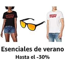 Hasta el 30% de descuento en ropa de verano y gafas de sol: Levi's, Urban Classics, Hawkers