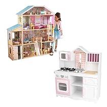 Ofertas en casa de muñecas y cocinas de madera