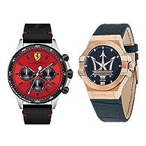 Hasta 40% de descuento en relojes Scuderia Ferrari y Maserati