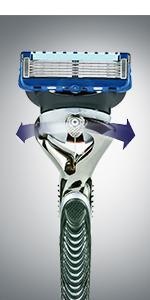 Gillette Mach3 Turbo Rasoio da Uomo