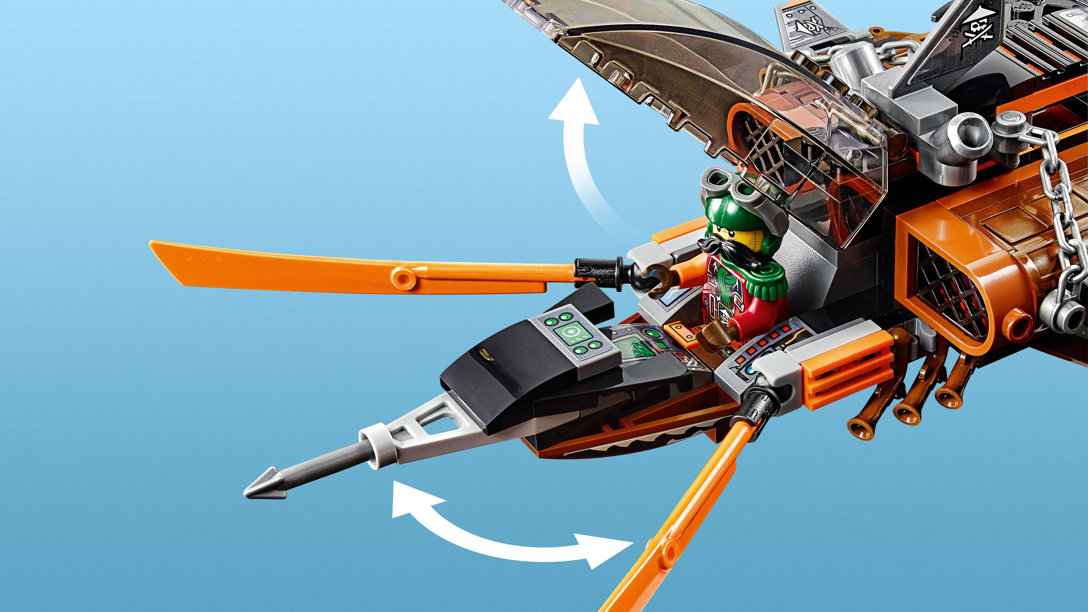 lego ninjago 70601 squalo volante giochi e