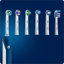 Oral-B 4000 Braun Spazzolino Elettrico SmartSeries, CrossAction