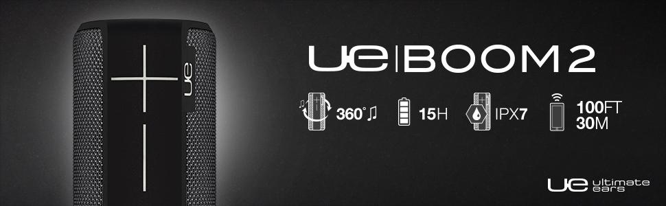 UE, Boom2, Ultimate Ears, Wireless, Bluetooth