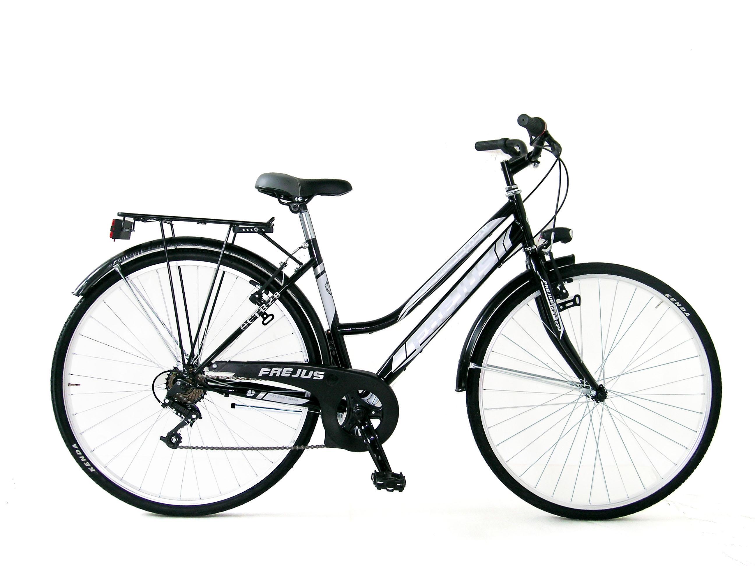Frejus 28 Trekking Bicicletta Donna Nero