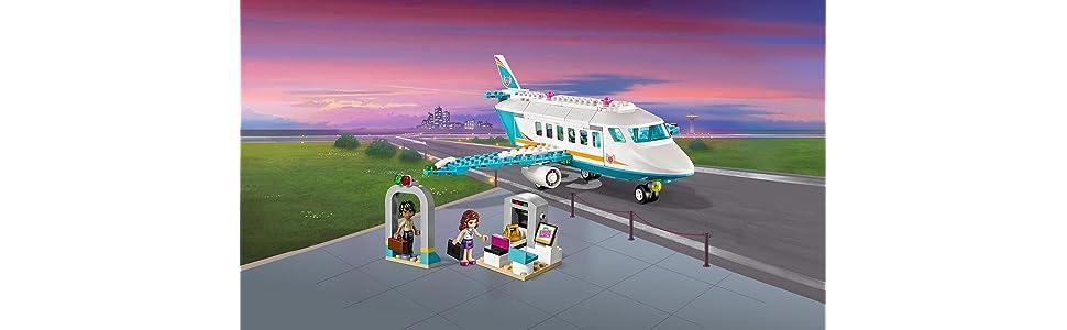 Jet Privato Lego : Lego friends il jet privato di heartlake amazon