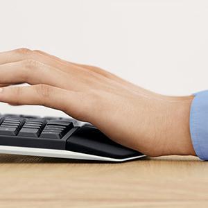 Logitech, Logi, tastiera e mouse wireless, bundle di tastiera e mouse, multi-device, più monitor, ta