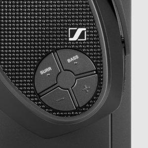 Modalità d'ascolto Bass Boost e Surround Sound
