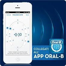 Oral-B 4000 Braun Spazzolino Elettrico SmartSeries, 3DWhite