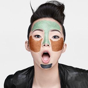 Multi-masking, mix, combinazione, 3 maschere