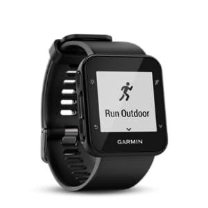 Garmin Forerunner 35 GPS Running Watch con Sensore Cardio al Polso, Connettività Smart e Monitoraggio Attività Quotidiana, iPhoneAndroid, Nero
