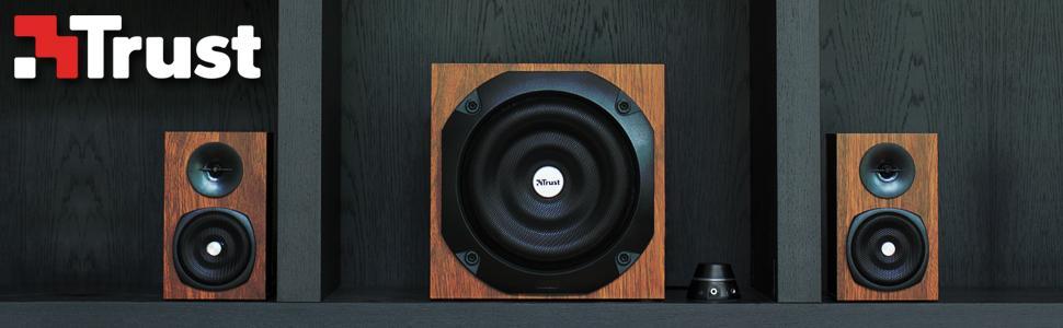 altoparlante in legno