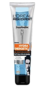 Gel Rasatura Invisibile Hydra Energetic, 150 ml