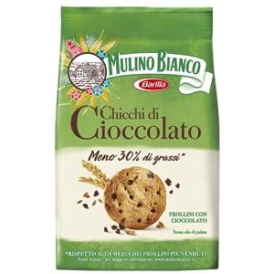Biscotti Frollini con cioccolato