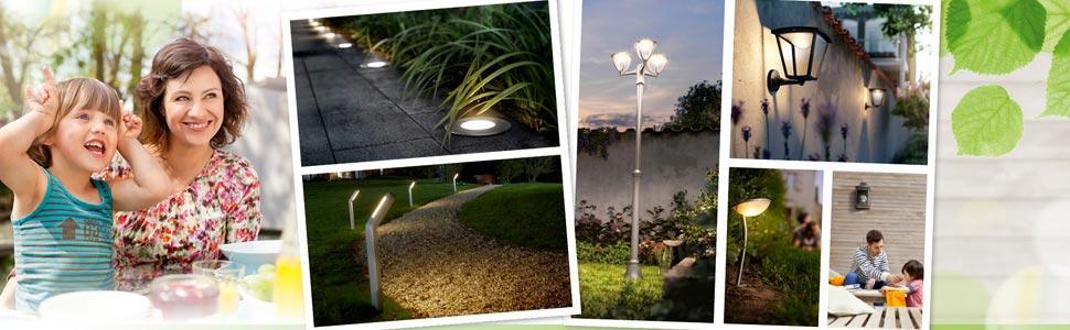 Philips 173023016 macaw lampada da parete a led per esterni, nero ...