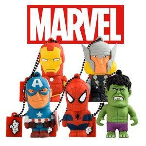 marvel; usb; pendrive; chiavetta usb; flash drive; memory stick; disney usb; avengers; spiderman