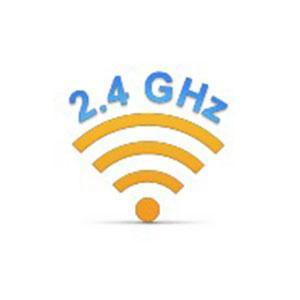 Connettività senza fili avanzata Logitech da 2,4 GHz