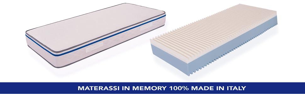 Materasso Memory Easy Ortopedico Anallergico