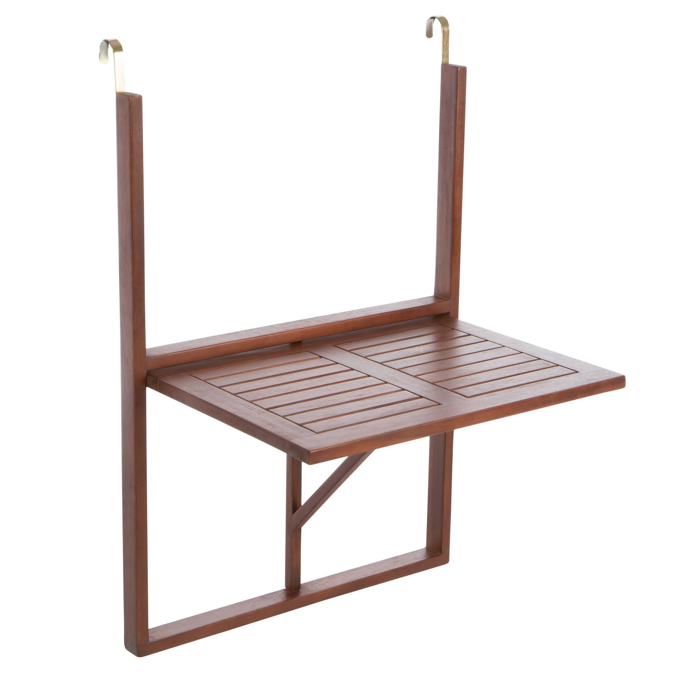 ultranatura tavolino da balcone tavolino sospeso in legno