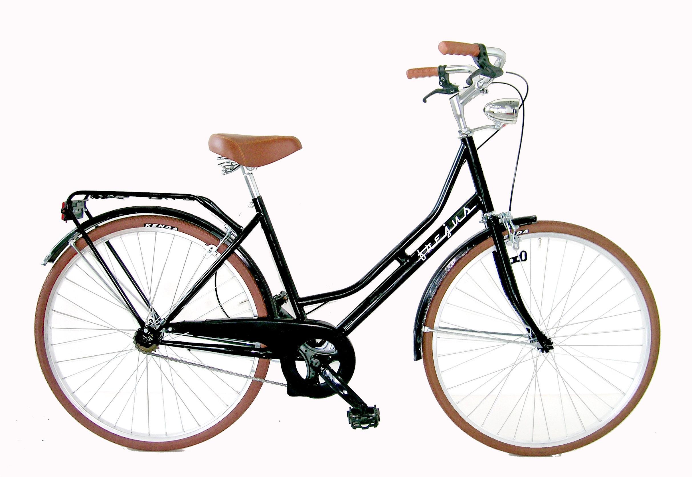 Frejus Htr26000pmo Bicicletta Olanda Retro Monovelocita 26 Nero