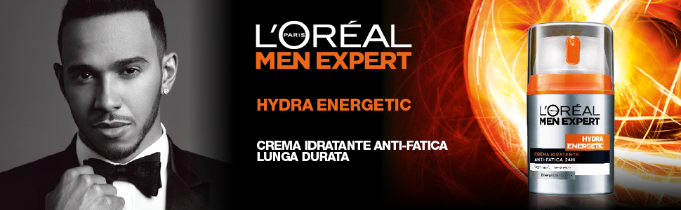 L'Oréal Paris, Men Expert, Hydra Energetic, Crema viso, Hamilton