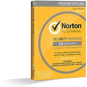 norton security 2016 premium antivirus 10 dispositivi 1 anno