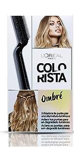 Ombré, colorazioni, colorista, L'Oréal Paris, Colorista, Colore trendy, L'Oreal Paris, loreal, oreal