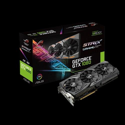 Asus GeForce GTX 1080 STRIX-GTX1080-O8G-GAMING: Amazon.it: Informatica