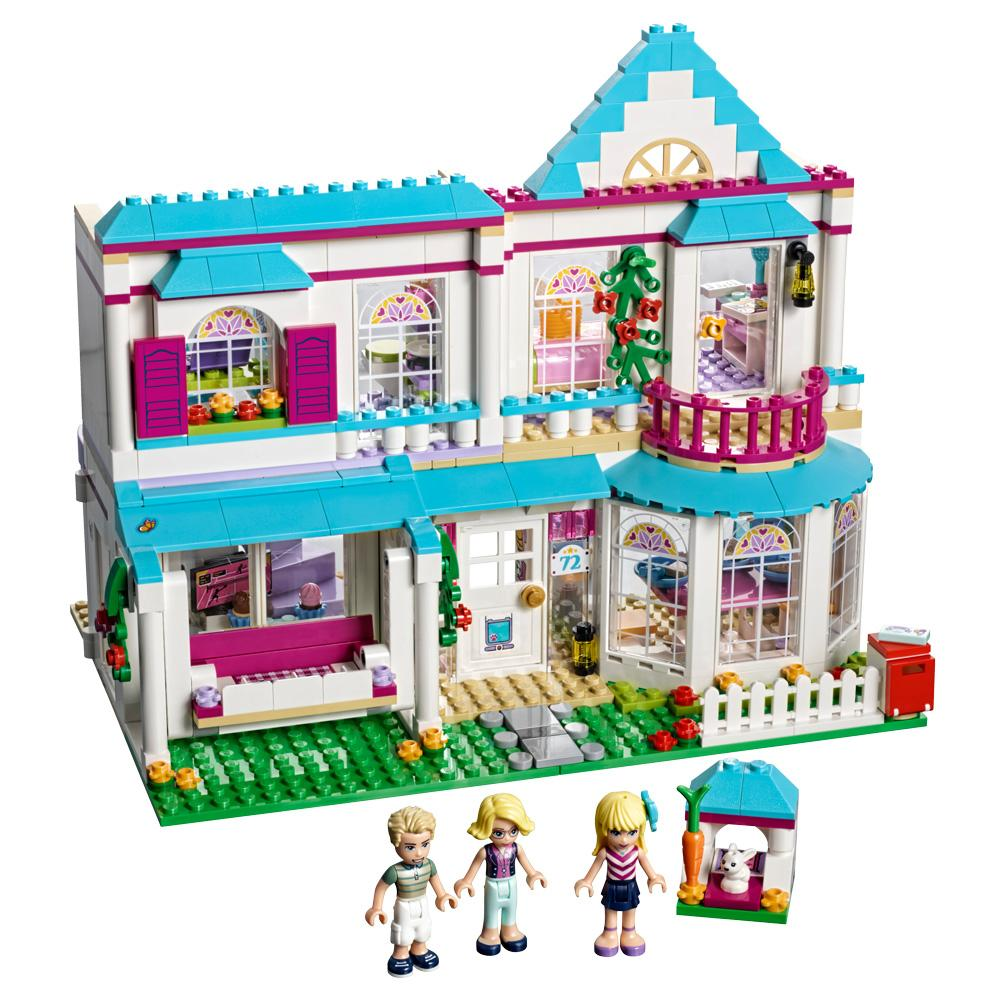 Lego friends 41314 set costruzioni la casa di stephanie for Amazon casa