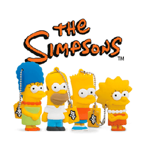 Tribe; Simpsons; Chiavetta USB; USB Homer Simpsons; USB Stick; Memory stick; USB 8GB; Pendrive