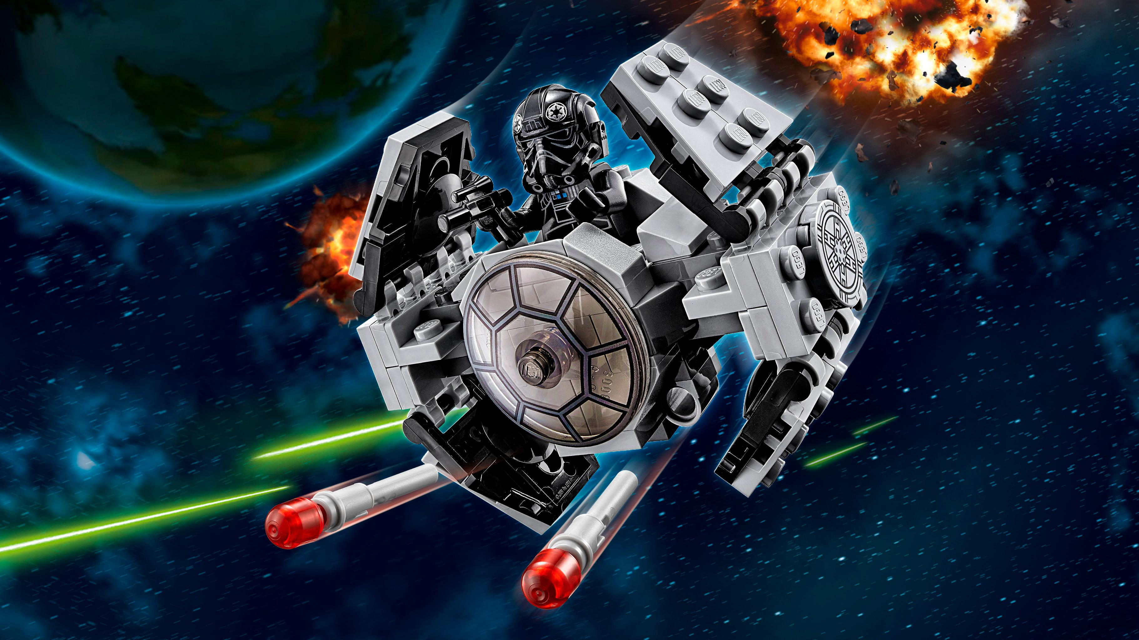 Lego 75128 star wars microfighters tie advanced for Prezzo criosauna cabina spaziale