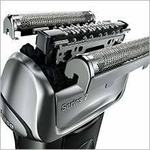 Braun Series 7 7840S Wet&Dry Rasoio Elettrico, Nero