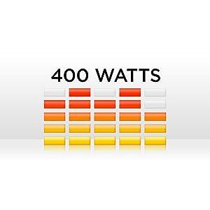 200 watt (RMS) di potenza