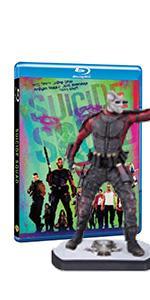 Blu-ray con statua di Deadshot