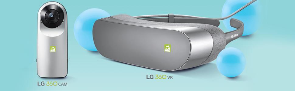 LG Friends, videocamera 360, 360 CAM, visore 360, 360 VR