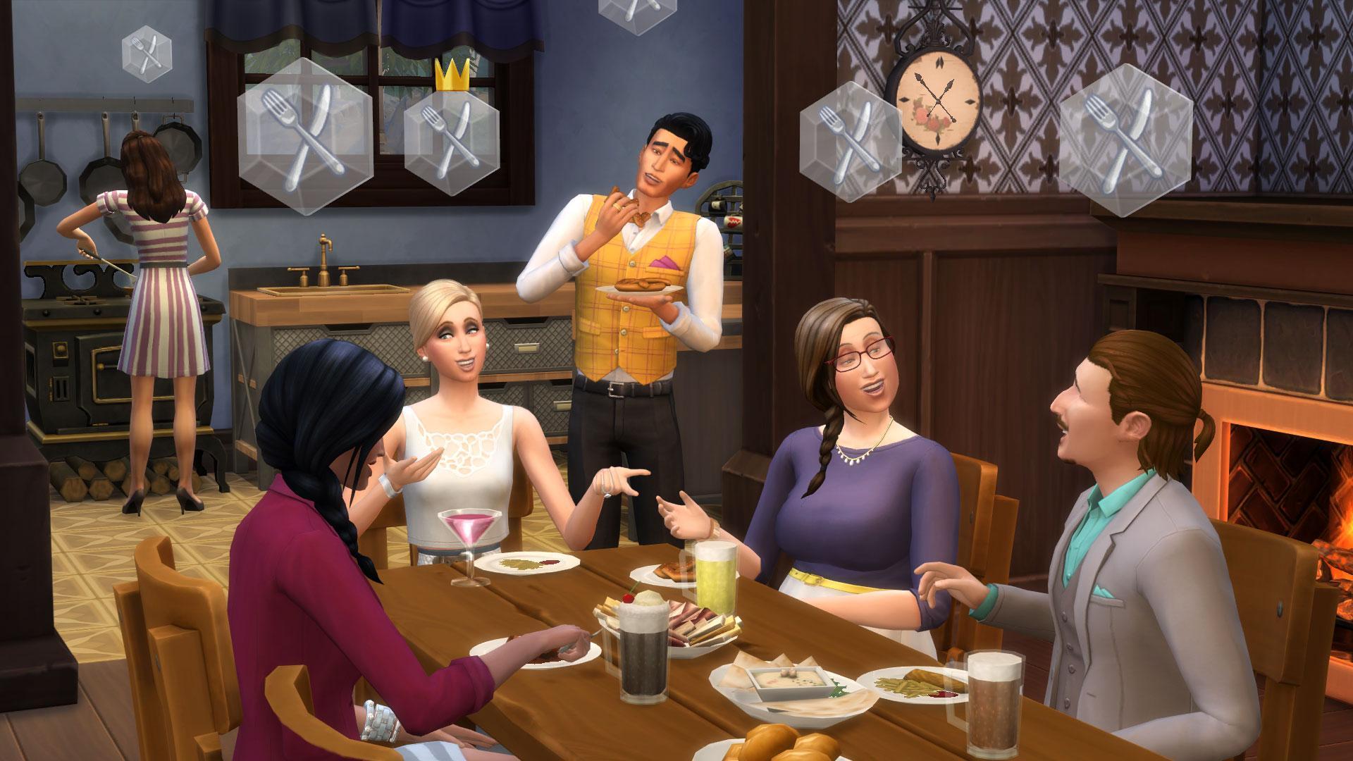 The sims 4 usciamo insieme espansione pc windows for Food bar game