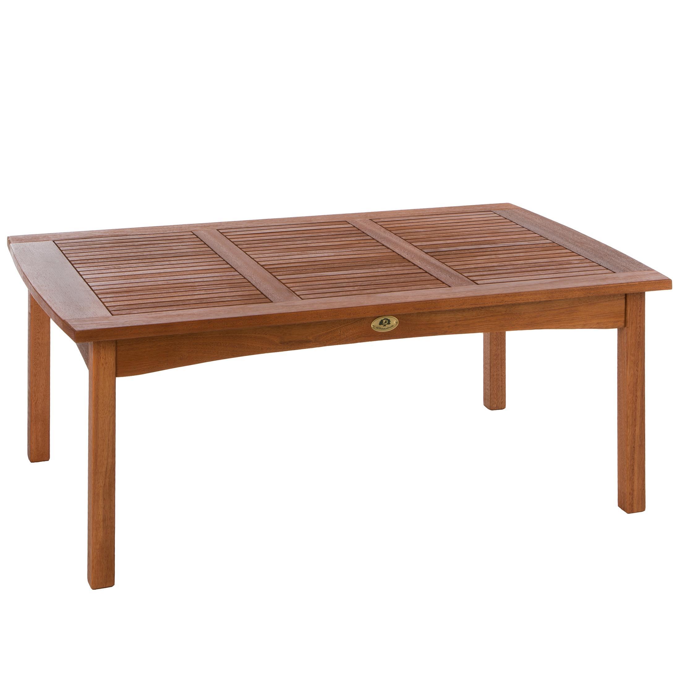 Ultranatura tavolo da giardino della serie canberra legno for Tavolo da giardino legno