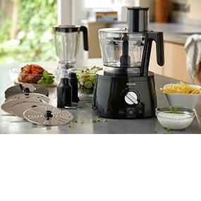 Philips hr7776 90 robot da cucina 4 in 1 multifunzione con frullatore spremiagrumi - Spremiagrumi automatico da casa ...