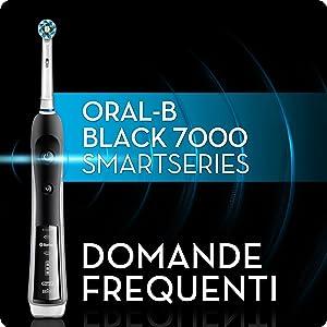 Spazzolino elettrico ricaricabile Oral-B Pro 7000 SmartSeries Nero