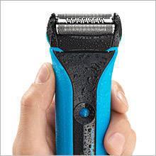 Braun rasoio elettrico WaterFlex WF2s Wet & Dry