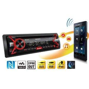 sony mex n4100bt autoradio con lettore cd nfc bluetooth. Black Bedroom Furniture Sets. Home Design Ideas