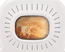 Moulinex OW6101 Home Bread Baguette Macchina del Pane con 16 Programmi Preimpostati, Capacità Extra fino a 1.5 kg,1650 W, 3 velocità, Bianco