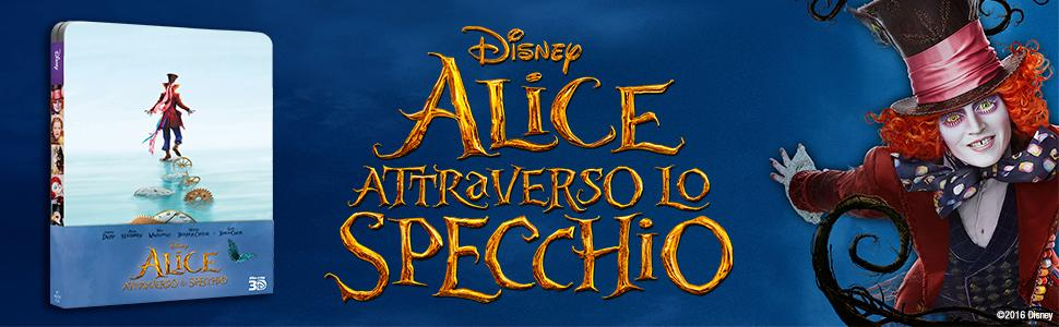 Alice attraverso lo specchio 2 blu ray 3d - Alice e lo specchio ...