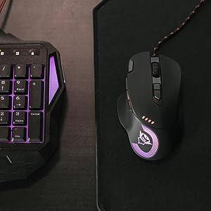 mouse gaming illuminato
