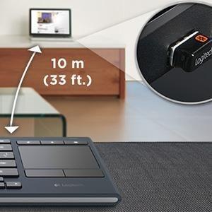 Amazoncom Logitech K830 Illuminated LivingRoom Keyboard