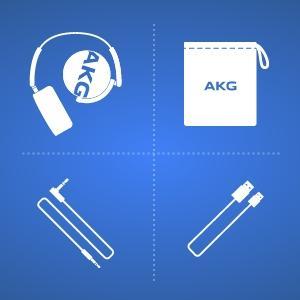 AKG Y50BT Cuffie Bluetooth Wireless Ricaricabili abd1e4129a6d