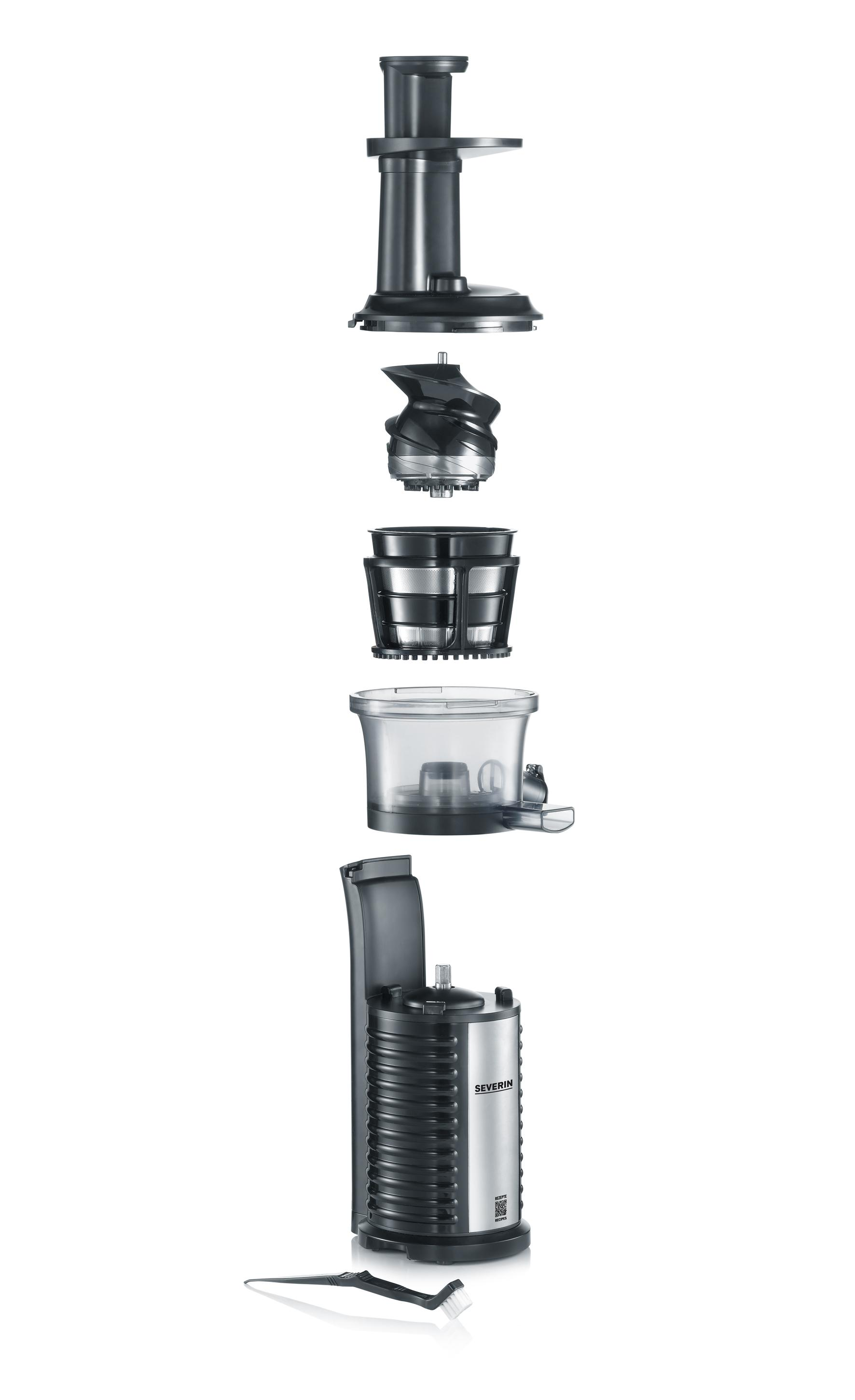 Severin ES 3569 Slow Juicer Estrattore di Succo senza Lame, BPA free: Amazon.it: Casa e cucina