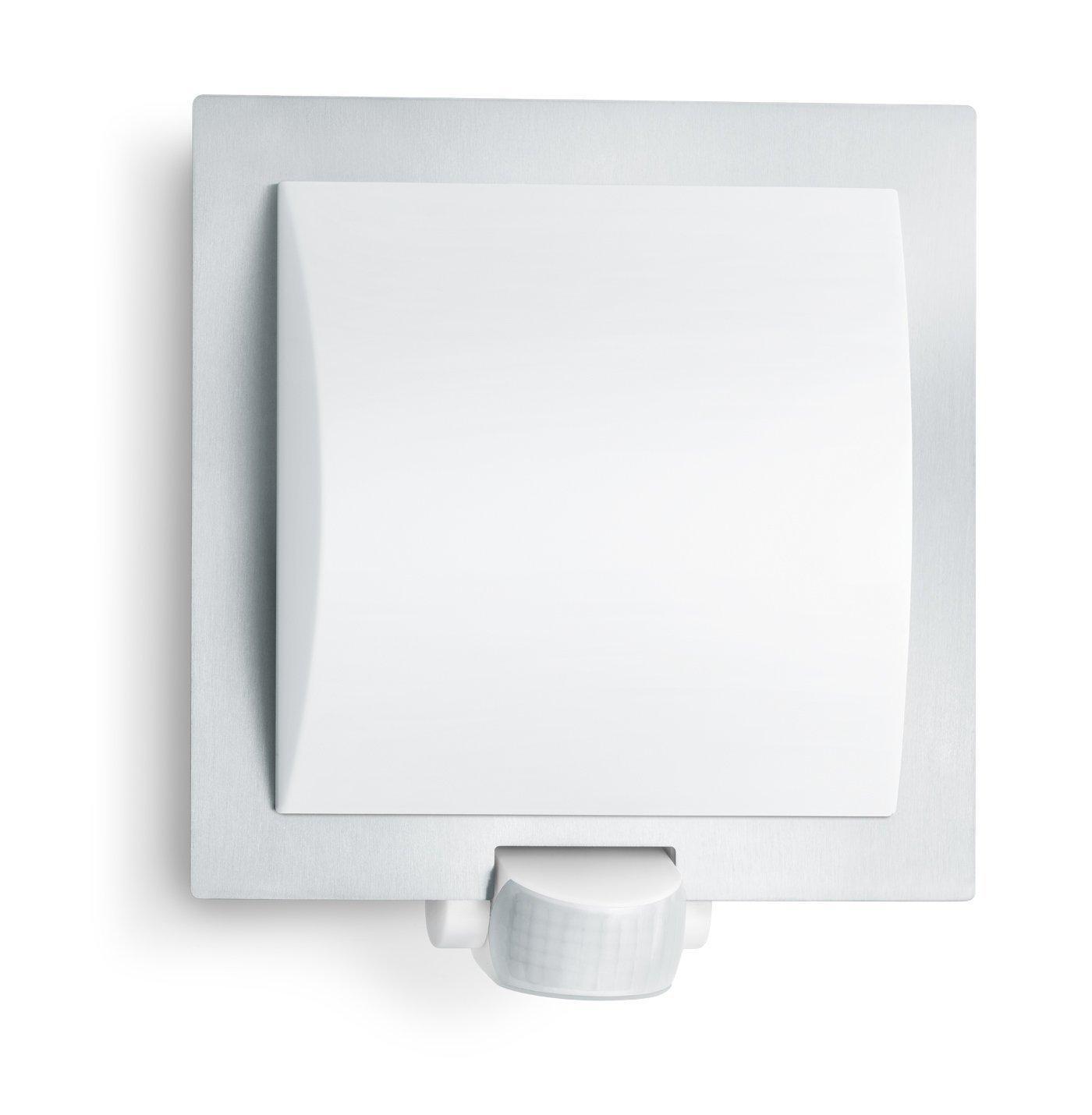 steinel lampada per esterni l 20 s con sensore a raggi infrarossi angolo di rilevamento di 180. Black Bedroom Furniture Sets. Home Design Ideas